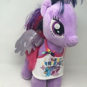 Build A Bear Twilight Sparkle MLP Unicorn Pegasus